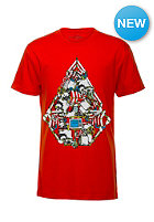 VOLCOM Kids Robo Stone Basic S/S T-Shirt why rock red