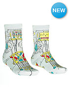 VOLCOM Kids Savage Socks cement grey