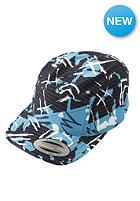 VOLCOM Kids Seafari 6 Panel Snapback Cap bright turquoise