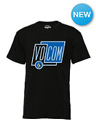 VOLCOM Kids Sheared S/S T-Shirt black