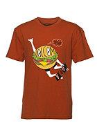 VOLCOM Kids Shred Burger Shred S/S T-Shirt fire