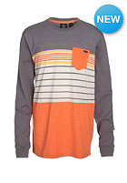 VOLCOM Kids Skape Stripe Longsleeve dark grey