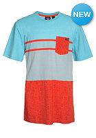 VOLCOM Kids Skape Stripe S/S T-Shirt bright turquoise