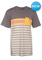 VOLCOM Kids Skape Stripe S/S T-Shirt dark grey
