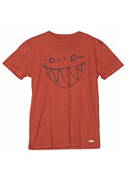 VOLCOM Kids Smile LT S/S T-Shirt burnt sienna