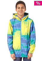 VOLCOM Kids Sonrisa Windbreaker Jacket yellow