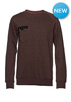 VOLCOM Kids Sprocket Pocket Crew Fleece Sweat burnt sienna
