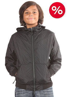 VOLCOM Kids Temper Windbreaker Jacket black