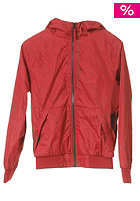 VOLCOM Kids Temper Windbreaker Jacket maroon