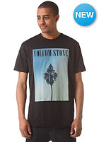 VOLCOM Krishduh Vcological S/S T-Shirt tinted black