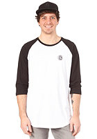 VOLCOM Label Baseball S/S T-Shirt black