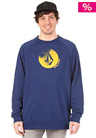 VOLCOM Lance Slim Crew Sweatshirt navy paint