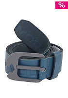 VOLCOM Leverage Leather Belt tidal blue