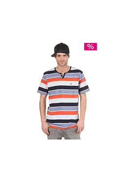 VOLCOM Lingo Henley Polo Shirt burnt orange