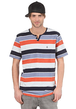 VOLCOM Lingo Henley S/S Polo Shirt burnt orange