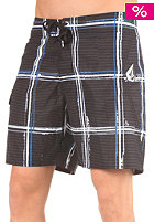 VOLCOM Maguro Plaid 18 Boardshorts black