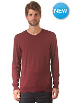 VOLCOM Main Knit Sweat burnt sienna