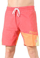 VOLCOM Mental Fun Shorts pink strobe