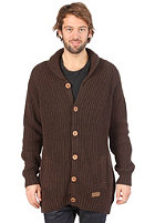 VOLCOM Midfield Cardigan heather brown
