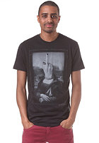 VOLCOM Mona Lightweight S/S T-Shirt tinted black