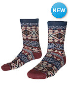 VOLCOM Mosaik Socks burnt sienna
