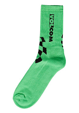 VOLCOM Moto Stone Socks 2012 green/yellow