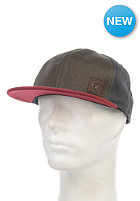 VOLCOM Nails 6Panel Snapback Cap burnt sienna