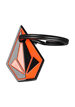 VOLCOM Oblique Keychain 2013 black/orange