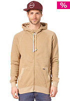 VOLCOM Oldgrant Ultraslim Zip Hooded Sweat dark khaki