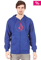 VOLCOM Original Stone Hooded Zip Sweat bold blue