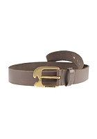 VOLCOM Ostrich Lthr Belt brown