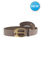 VOLCOM Ostrich Lthr Belt brown