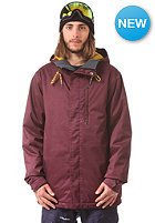 VOLCOM Patch INS Jacket burgundy