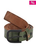 VOLCOM Petition Leather Belt expedition green