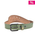 VOLCOM Petition Leather Belt military