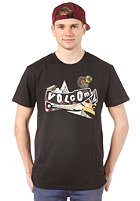 VOLCOM Pistol Refuge S/S T-Shirt black