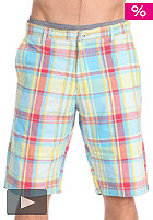 VOLCOM Plaino Plaid Short red