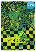 VOLCOM Print Towel green