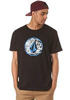 VOLCOM Punk Circle S/S T-Shirt black