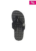 VOLCOM Recliner Creedlers Sandals black white