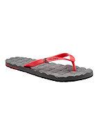 VOLCOM Recliner Rubber Sandal red