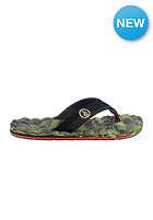 VOLCOM Recliner Sandals camouflage
