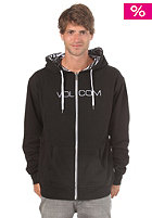 VOLCOM Refied Rev Basic Hooded Zip Sweat black