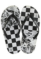 VOLCOM Rocker Sandal black white