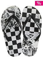 VOLCOM Rocker Sandal black white