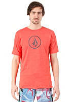VOLCOM Round Stone Surf Tee Lycra pistol punch
