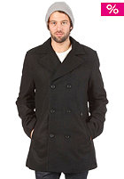 Rudder Peacoat Jacket black