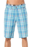VOLCOM Rushy Plaid ChIno Short airforce blue