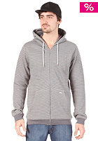VOLCOM Single Stripe Slim Hooded Zip Sweat metal