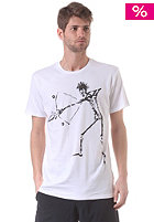VOLCOM Skeleton S/S T-Shirt white